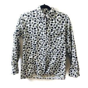 Woolrich Corduroy Leaf Button Down Shirt